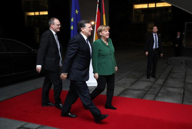 Visit of José Manuel Barroso, President of the EC, to Berlin