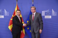 Visit of Nikola Gruevski, Prime Minister of the former Yugoslav Republic of Macedonia, to the EC