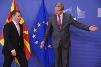 Visite de Nikola Gruevski, Premier ministre de l'ancienne République yougoslave de Macédoine, à la CE