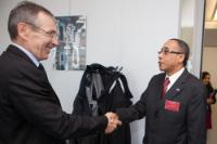 Visit of José Luis Rocha, Cape Verdean Secretary of State for Foreign Affairs, to the EC