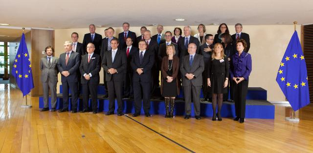 Visit of a delegation from the Portuguese government to the EC