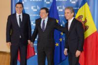 Visit of Victor Ponta, Romanian Prime Minister, and Iurie Leancă, Moldovan Prime Minister, to the EC