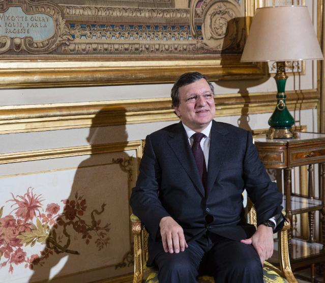 Meeting between François Hollande, President of the French Republic, and José Manuel Barroso, President of the EC