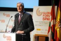 Participation de Joaquín Almunia, vice-président de la CE, Michel Barnier et Karel De Gucht, membres de la CE, au Forum mondial d'Espagne