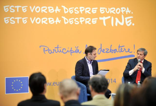 Citizens' Dialogue in Bucharest with Dacian Cioloş