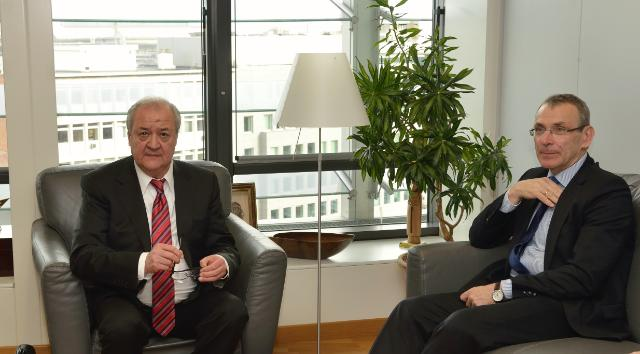 Visit of Abdulaziz Kamilov, Uzbek Minister for Foreign Affairs, to the EC