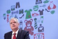 Conférence de presse de Neven Mimica, membre de la CE, sur le 10e rapport annuel des résultats du système européen d'alerte rapide pour les produits dangereux