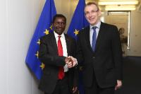 Visit of Ephraim Mganda Chiume, Malawian Minister for Foreign Affairs and Cooperation, to the EC