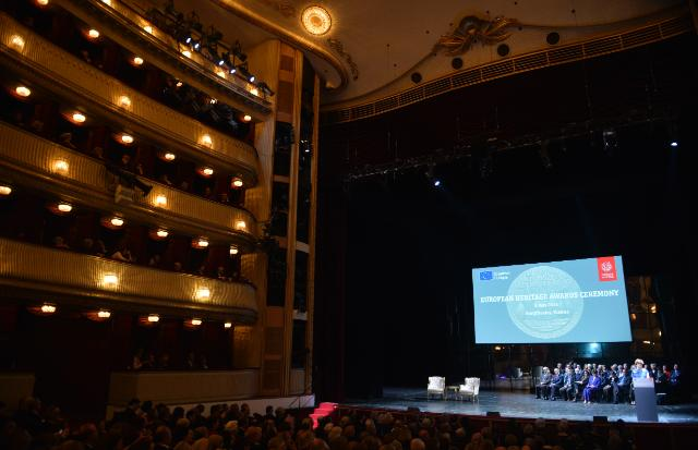 Participation of Androulla Vassiliou, Member of the EC, at the 2014 Europa Nostra's European Heritage Congress and the ceremony for the EU Prize for Cultural Heritage, in Vienna