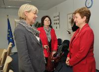 Visit of Elisabeth Rasmusson, Assistant Executive Director for Partnership and Governance Services of the WFP, to the EC