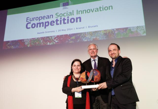 Awards ceremony of the 2nd edition of the Social Innovation Competition, in memory of Diogo Vasconcelos