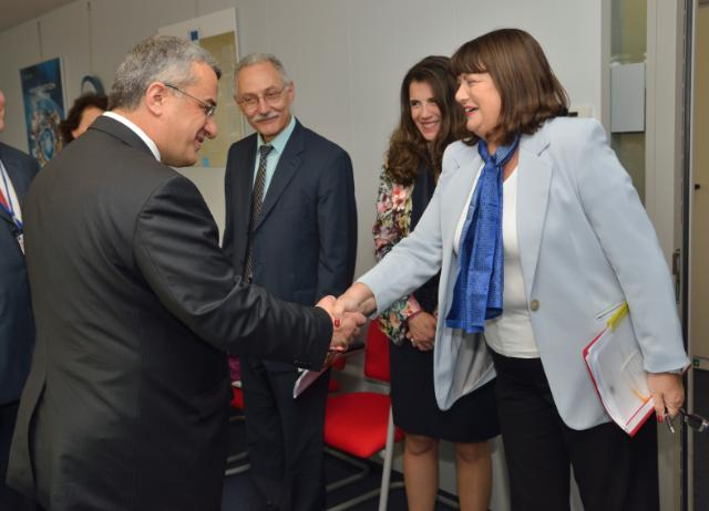 Visit of Davut Kavranoğlu, Turkish Deputy Minister at the Ministry of Science, Industry and Technology, to the EC
