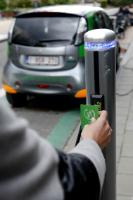 Share of electric cars: Brussels