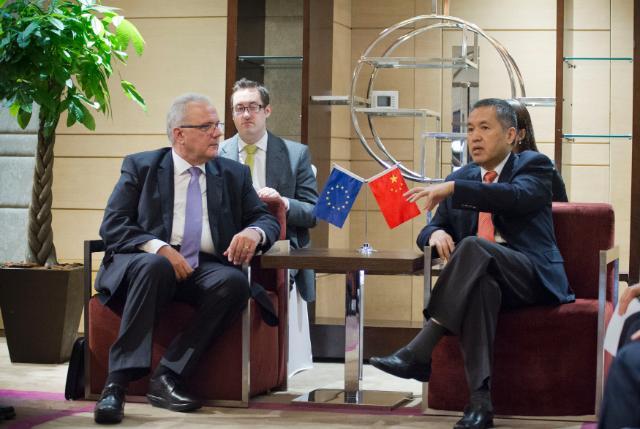 Visite de Neven Mimica, membre de la CE, en Chine