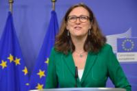 Conférence de presse conjointe de Cecilia Malmström, membre de la CE, et Philippe Fargues, directeur du Centre de politique migratoire de l'IUE, sur le rapport intitulé 'Is what we hear about migration really true? Questioning eight stereotypes'