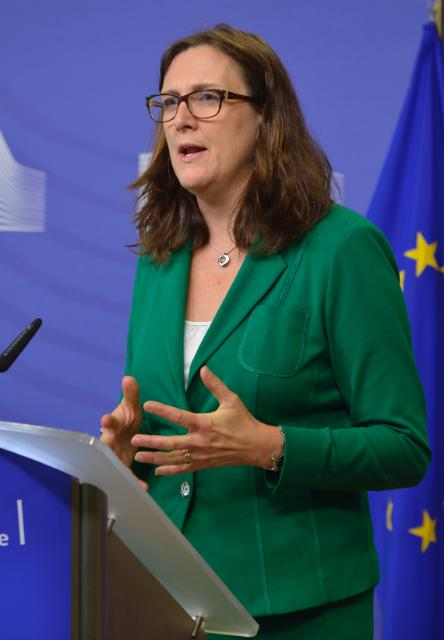 Joint press conference by Cecilia Malmström, Member of the EC, and Philippe Fargues, Director of the Migration Policy Centre of the EUI, on the report entitled 'Is what we hear about migration really true? Questioning eight stereotypes'