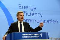 Press conference of Günther Oettinger, Vice-President of the EC, on Energy efficiency