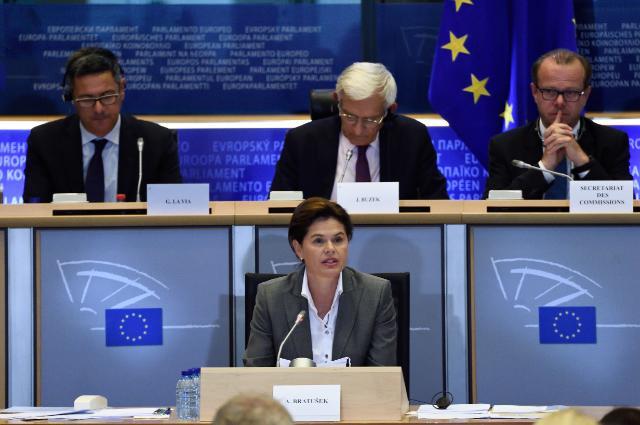 Audition d'Alenka Bratušek, vice-présidente désignée de la CE, au PE