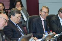 "Illustration of ""Participation of José Manuel Barroso, President of the EC, in the seminar for the presentation of the..."
