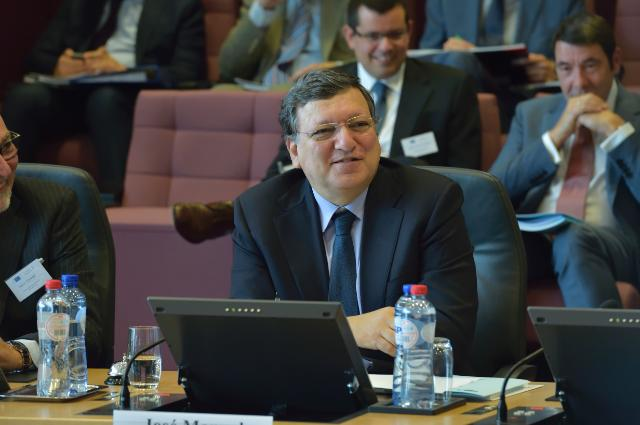 Participation of José Manuel Barroso, President of the EC, in the seminar for the presentation of the 'Survey of Economic Reforms in the EU 2008-2014'