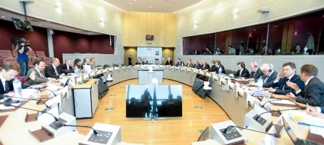 EU/Russia/Ukraine trilateral meeting on gas, Brussels, 21/10/2014