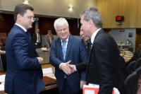 """Illustration of """"EU-Russia-Ukraine trilateral meeting on gas, Brussels, 21/10/2014"""""""