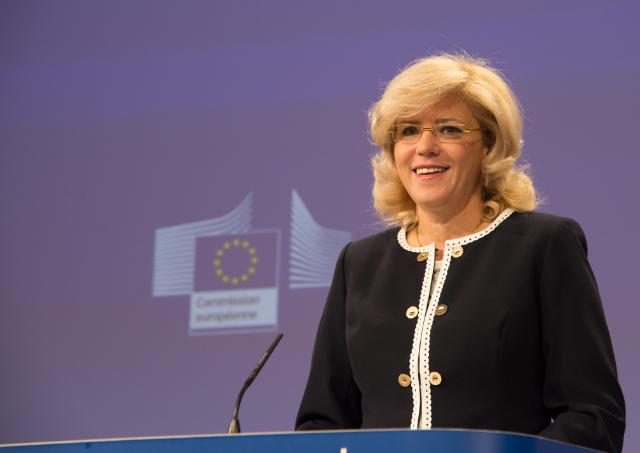 Press conference by Corina Creţu, Member of the EC, on the new European investment programmes in the regions