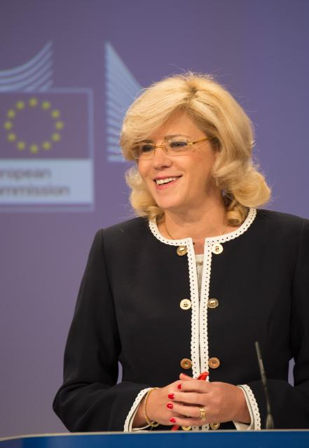 Press conference by Corina Creţu, Member of the EC, on new European investments in the regions
