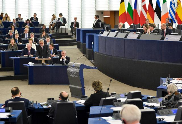 Participation of Jean-Claude Juncker, President of the EC, in the EP plenary session to present the creation of a new EU strategic investment plan