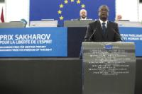 "Illustration of ""Participation of Jean-Claude Juncker, President of the EC, in the EP plenary session to present the..."