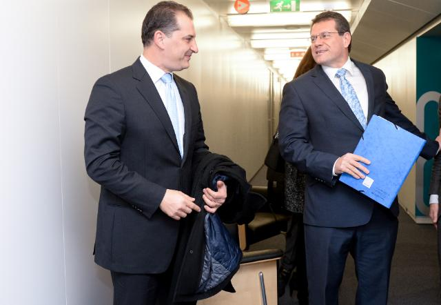 Visit of Yiorgos Lakkotrypis, Cypriot Minister for Energy, Commerce, Industry and Tourism, to the EC