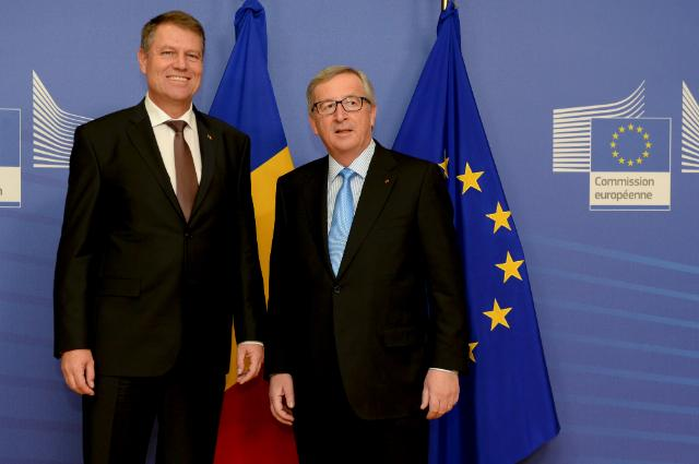 Visit of Klaus Iohannis, President of Romania, to the EC