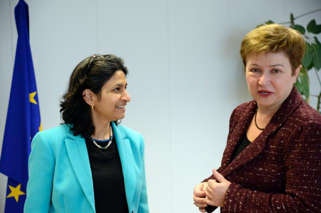 Visite de Mamta Murthi, directrice des opérations de la Banque mondiale pour l'Europe centrale et les pays baltes, à la CE