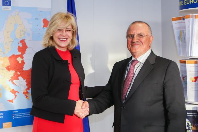 Visite d'Evgeni Kirilov, membre du PE, à la CE
