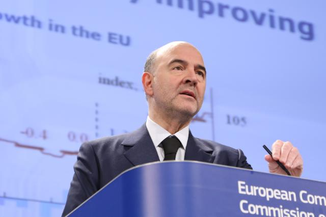 Press conference by Pierre Moscovici, Member of the EC, on the Winter Economic Forecast 2015