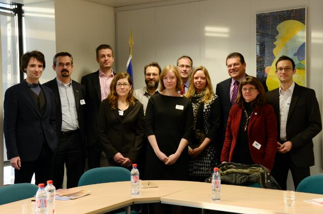 Visit of representatives from the 'Green 10' to the EC