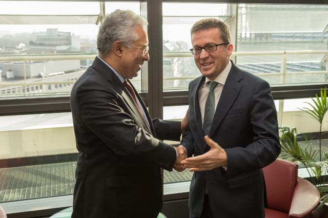 Visit of António Costa, Secretary General of the Portuguese Socialist Party and Mayor of Lisbon, to the EC