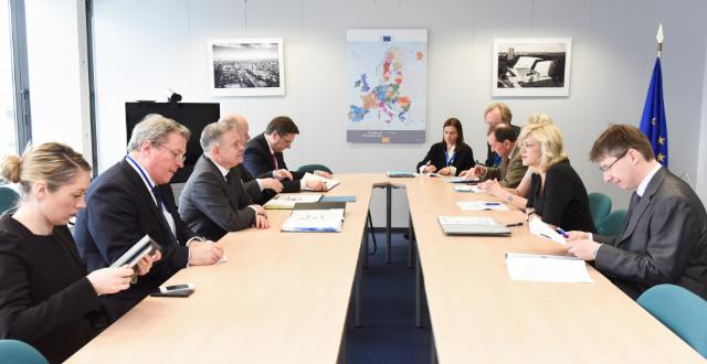 Visit of Brendan Howlin, Irish Minister for Public Expenditure and Reform, to the EC
