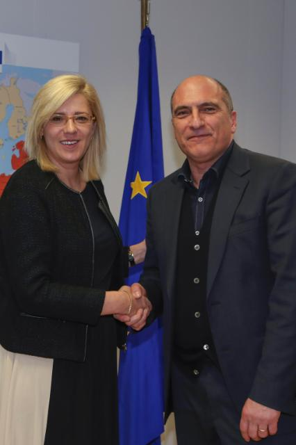 Visit of Andrea Cozzolino, Member of the EP, to the EC