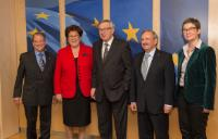 Visit of Barbara Stamm, President of the Bavarian State Assembly, to the EC