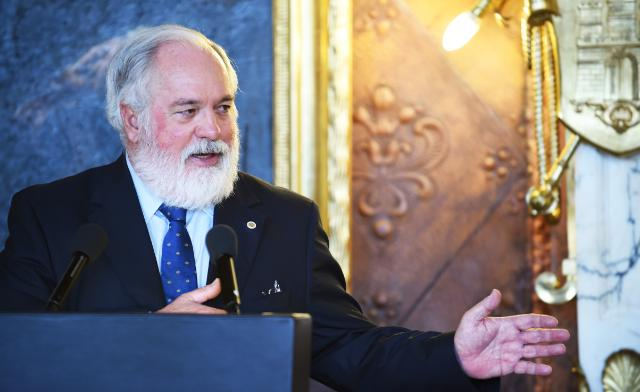 Participation of Miguel Arias Cañete, Member of the EC, at the G7 Energy Ministerial Meeting, 11-12/05/2015, Hamburg