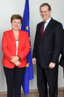 Visit of David Harris, President of the American Jewish Congress, to the EC
