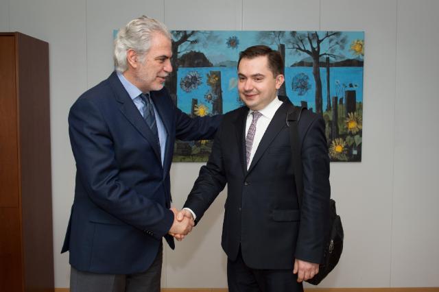 Visit of Konrad Pawlik, polish Under Secretary of State for Development Cooperation, Polish Diaspora and Eastern Policy, to the EC