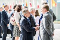 Réunion inaugurale de la présidence luxembourgeoise du Conseil de l'UE avec la CE