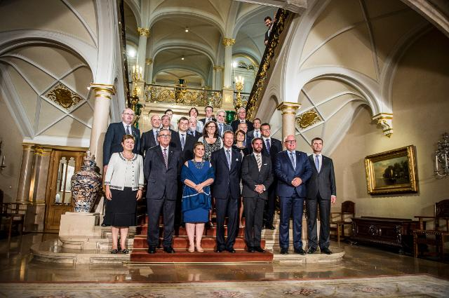 Inaugural meeting of the Luxembourg Presidency of the Council of the EU with the EC