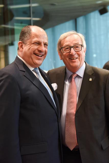 Participation de Jean-Claude Juncker et Federica Mogherini au Sommet UE-SICA