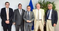 Visit of David Nutt, President of the European Brain Council, to the EC
