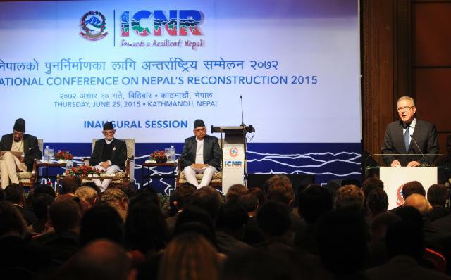 Visite de Neven Mimica, membre de la CE, au Népal
