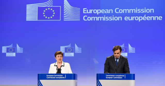 Joint press conference by Kristalina Georgieva, Vice-President of the EC, and, Margaritis Schinas, Chief European Commission Spokesman, on the conclusions of the weekly meeting of the Juncker Commission