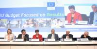 Participation of Jean-Claude Juncker, President of the EC, and Kristalina Georgieva and Maroš Šefčovič, Vice-Presidents of the EC, in the conference 'EU Budget Focused on Results'
